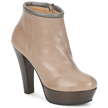 Shoes Women Low boots Keyté POULOI TAUPE