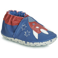 Shoes Boy Slippers André LA FUSEE Blue