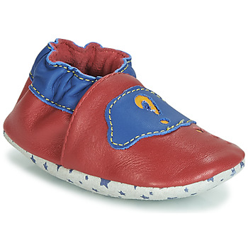Shoes Boy Slippers André LES BULLES Red