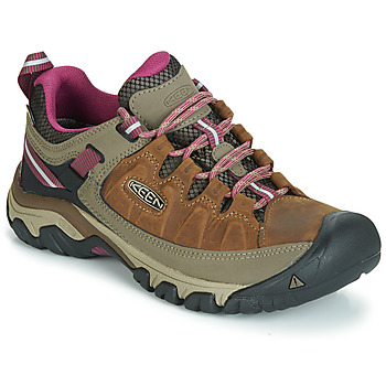 Shoes Women Hiking shoes Keen TARGHEE III WP Brown / Pink