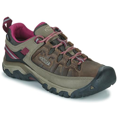 Shoes Women Hiking shoes Keen TARGHEE III WP Brown / Pink