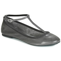 Shoes Women Ballerinas André LILAS Grey