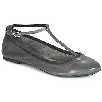 Shoes Women Ballerinas André LILAS Grey