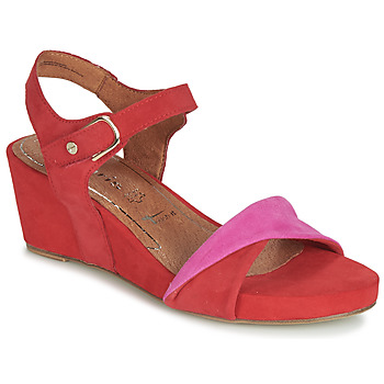 Shoes Women Sandals Tamaris JULE Red / Pink