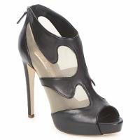 Shoes Women Low boots Rupert Sanderson ORBIT Black / BEIGE