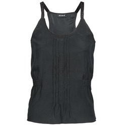material Women Tops / Sleeveless T-shirts Kookaï GUISINE Black