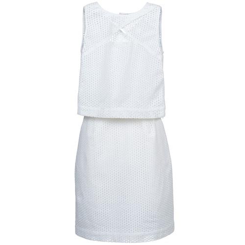 material Women Short Dresses Kookaï BOUJETTE White