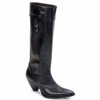 Shoes Women Boots Stephane Gontard PUCCINI Black
