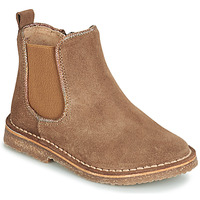 Shoes Girl Mid boots André ARIA Camel