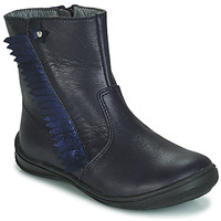 Shoes Children Mid boots André INDIANA Marine