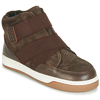 Shoes Boy Mid boots André CUBE Brown