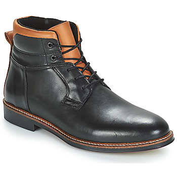 Shoes Men Mid boots André SINTRA Black