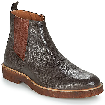 Shoes Men Mid boots André HAWAI Brown