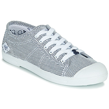 Shoes Women Low top trainers Le Temps des Cerises BASIC 02 Blue / White
