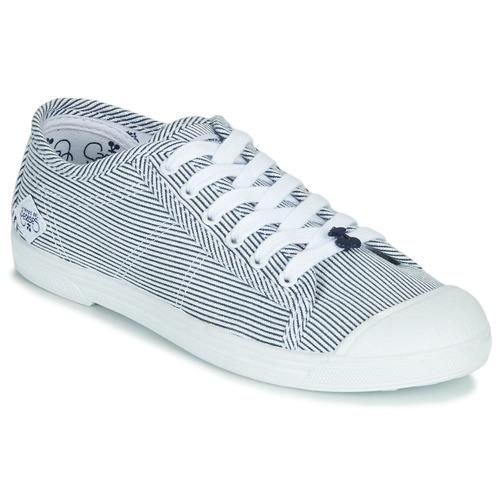 Shoes Women Low top trainers Le Temps des Cerises BASIC 02 Blue / White