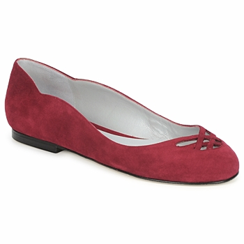 Shoes Women Ballerinas Fred Marzo MOMONE FLAT BORDEAUX