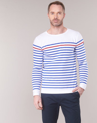 material Men Long sleeved shirts Armor Lux YAYAYOUT White / Blue / Red