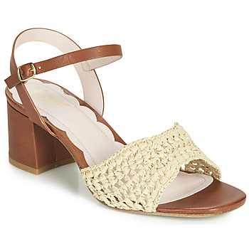 Shoes Women Sandals Miss L'Fire MIRO Brown