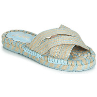 Shoes Women Sandals Miss L'Fire BOHEME Blue