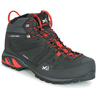 Shoes Men High top trainers Millet SUPER TRIDENT GTX Black / Red