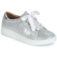 Shoes Women Low top trainers Cristofoli ARE Silver