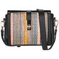 Bags Women Messenger bags André ELSA Black / Multicolour