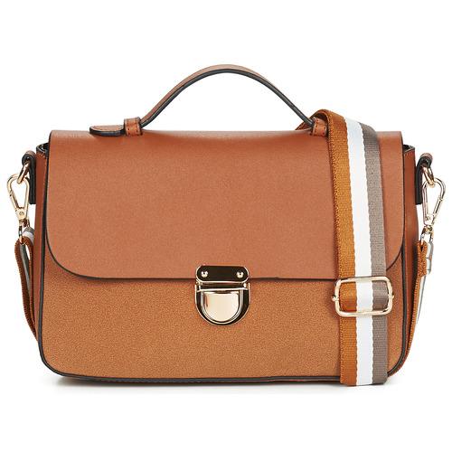Bags Women Shoulder bags André SANIA Camel