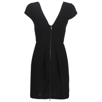 material Women Short Dresses Armani Exchange HELABINA Black