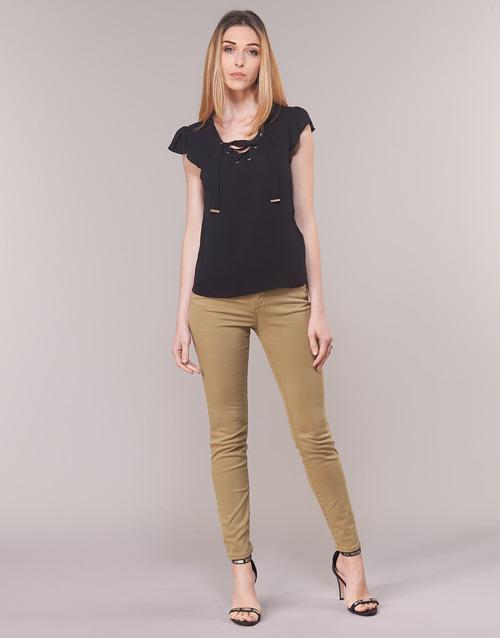 material Women 5-pocket trousers Armani Exchange HELBIRO Beige