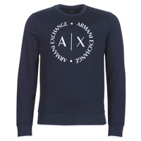 material Men sweaters Armani Exchange HERBARI Black