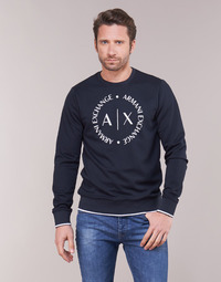 material Men sweaters Armani Exchange HERBARI Black