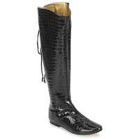 Shoes Women Boots French Sole PRINCE Black