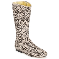 Shoes Women Boots French Sole PATCH Leopard