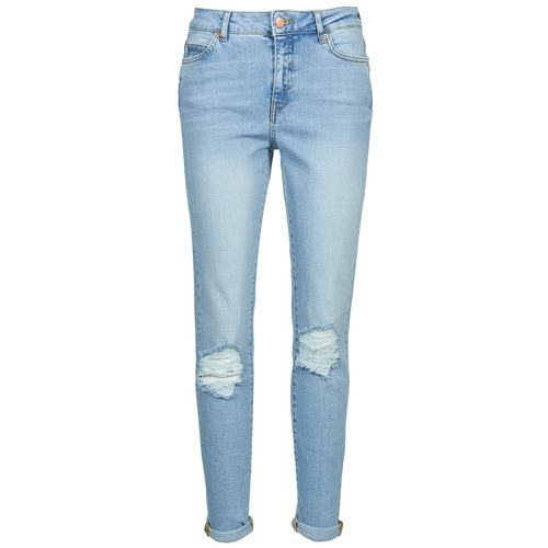 material Women slim jeans Noisy May KIM Blue / Clear