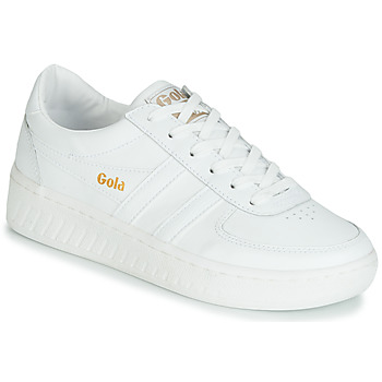Shoes Women Low top trainers Gola GRANDSLAM LEATHER White