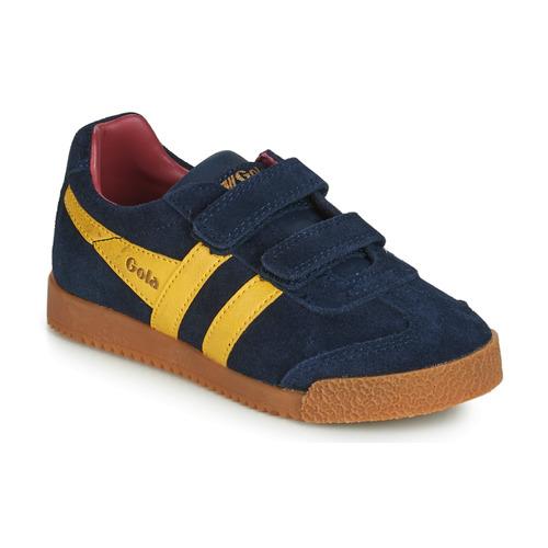 Shoes Children Low top trainers Gola HARRIER VELCRO Blue