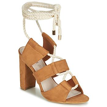 Shoes Women Sandals Cassis Côte d'Azur DON Brown