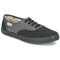 Shoes Low top trainers Victoria INGLESA BICOLOR Anthracite