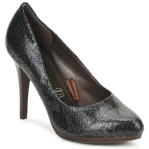 Shoes Women Court shoes StylistClick PALOMA Black / Python