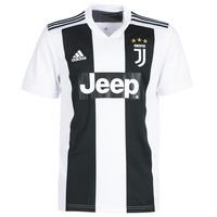 material Men short-sleeved t-shirts Adidas Performance PAP JUVE JERSEY Black