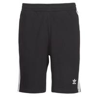 material Men Shorts / Bermudas adidas Originals 3 STRIPE SHORT Black