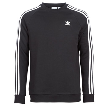 material Men sweaters adidas Originals 3 STRIPES CREW Black