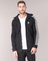 material Men sweaters adidas Originals 3 STRIPES FZ Black
