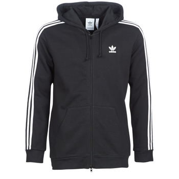 material Men sweaters adidas Originals 3 STRIPES FZ Black