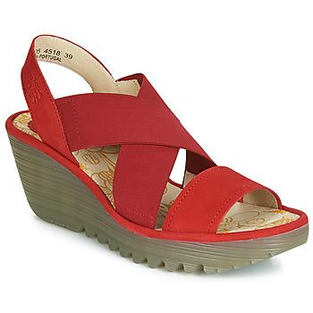 Shoes Women Court shoes Fly London YAJI Red