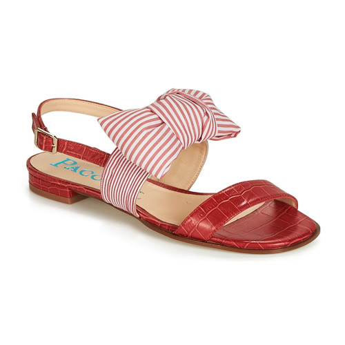 Shoes Women Sandals Paco Gil BOMBAY Red
