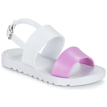Shoes Girl Sandals Be Only ELEA White / Pink