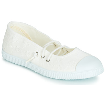 Shoes Girl Ballerinas Chipie SOFAY BROB White / Lace