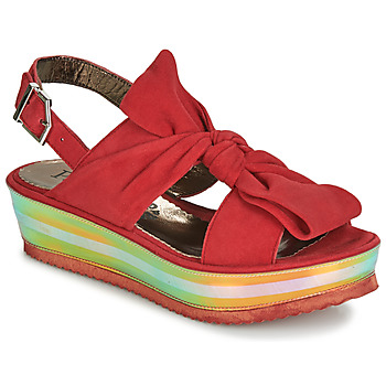 Shoes Women Sandals Papucei CONDE Red