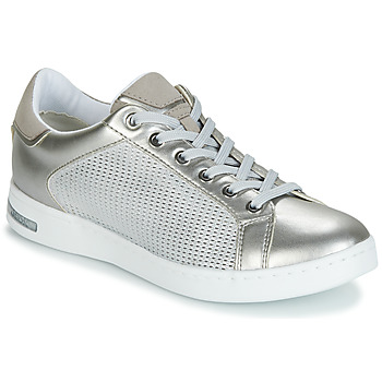 Shoes Women Low top trainers Geox D JAYSEN Silver